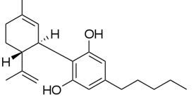 The Cannabidiol -CBD- Molecule from Cannabis