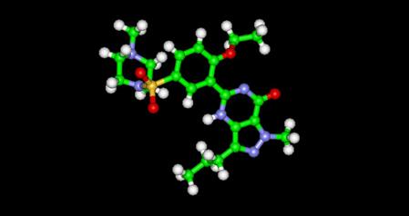 Viagra molecule