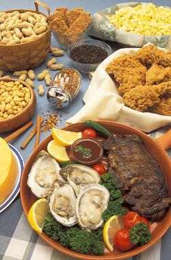 Храни и подправки, съдържащи Цинк